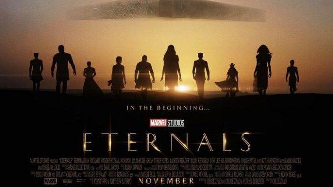 'Eternals' movie from Marvel Studios